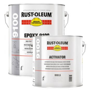 Epoxy vloercoating 9100 Rust- Oleum