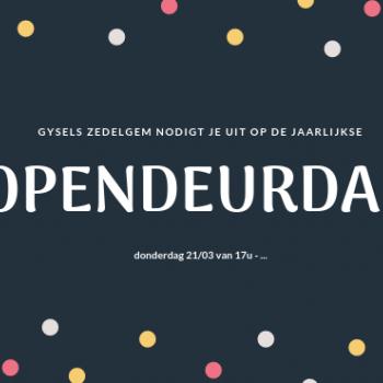 Opendeurdag Gysels Zedelgem